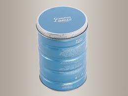 香水铁盒,马口铁香水包装盒D83*120mm
