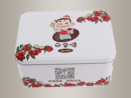 红枣铁盒,红枣包装铁盒185*132*91mm